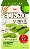 江崎グリコ 【糖質50%オフ※】SUNAO(宇治抹茶) 62g×5個