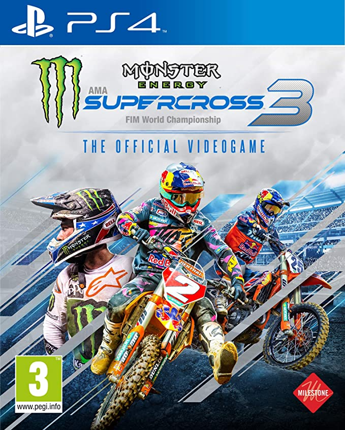 Monster Energy Supercross - The Official Videogame 3 - PlayStation 4 [Importación inglesa]