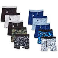Boys' ComfortSoft Waistband Boxer Briefs 10-Pack (Assorted/Colors May Vary)
