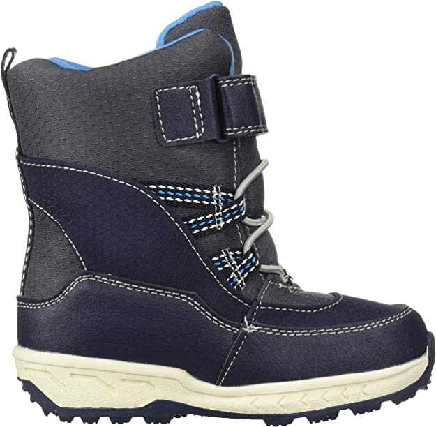 Navy Carters Boyss Uphill2-B Weather Boot 5 M US Toddler