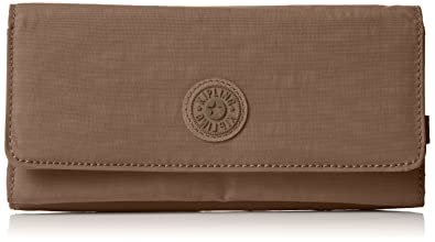 Kipling Women Brownie Wallet, Beige (True Beige), 19x10x3 cm (B x