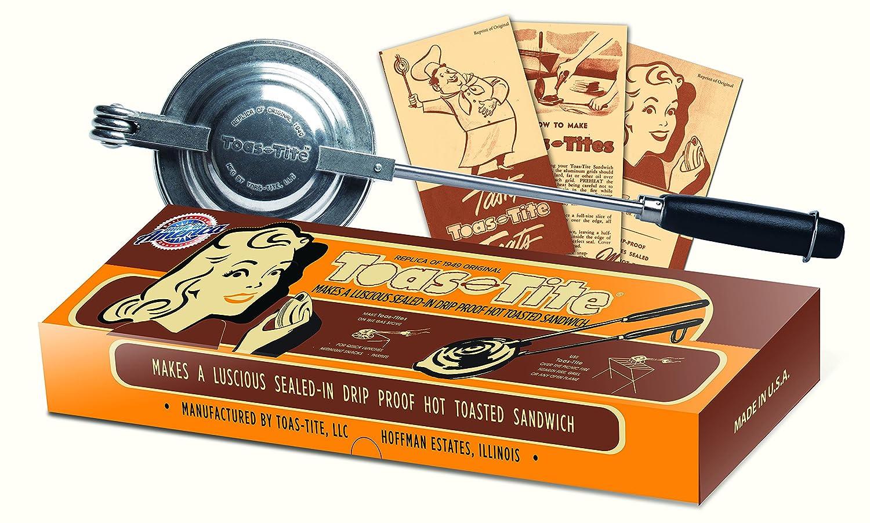 Toas-Tite 79357 Aluminum Sandwich Grill 15 1/2 x 4 3/4 x1 1/2 Silver