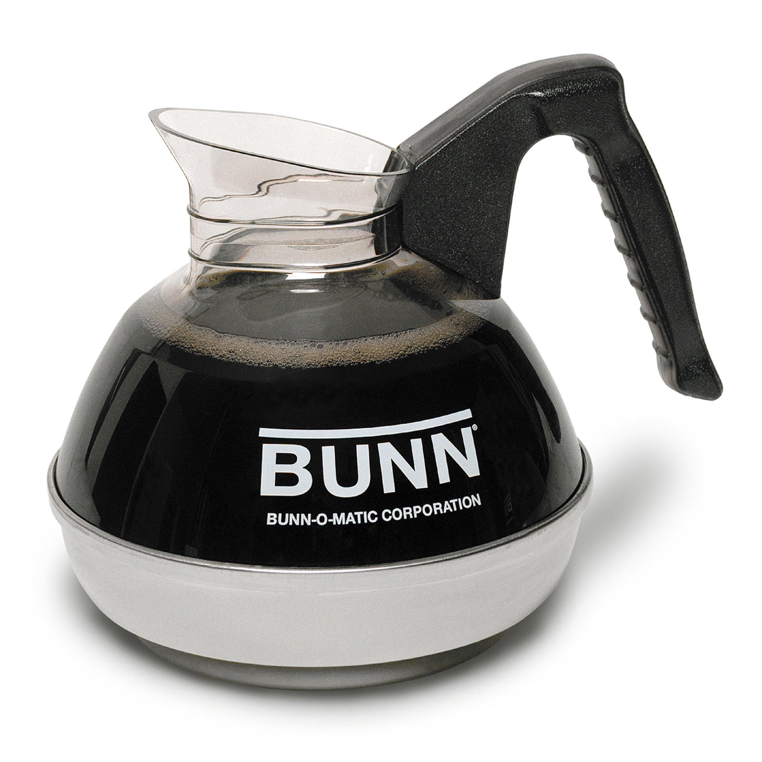 BUNN 6100 Easy Pour Replacement Decanter, Black by BUNN
