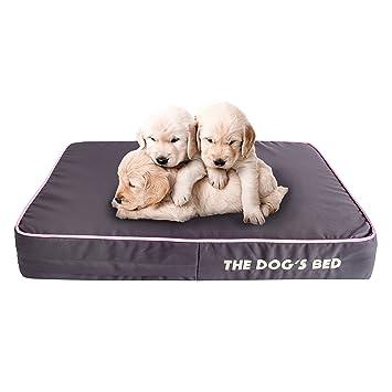 The Dogs Bed - Cama de perro ortopédica, impermeable, viscoelástica, 5 tamaños/