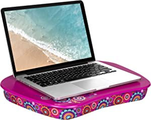 LapGear MyStyle Lap Desk - Good Vibes - Fits up to 15.6 Inch Laptops - Style No. 45312