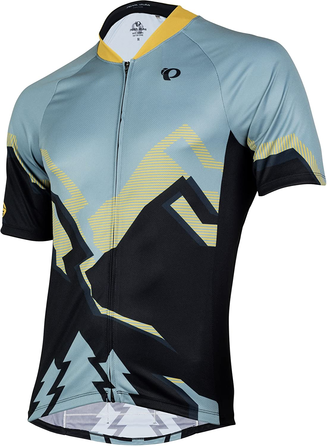 Pearl Izumi MTB LTD Jersey Mountain Trees Arctic Yellow e2a66c8eb