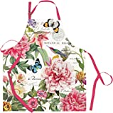 Michel Design Works Cotton Chef Apron, Peony