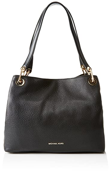 Michael Kors Women s Raven Large Leather Shoulder Bag  Amazon.in ... 64bea80261