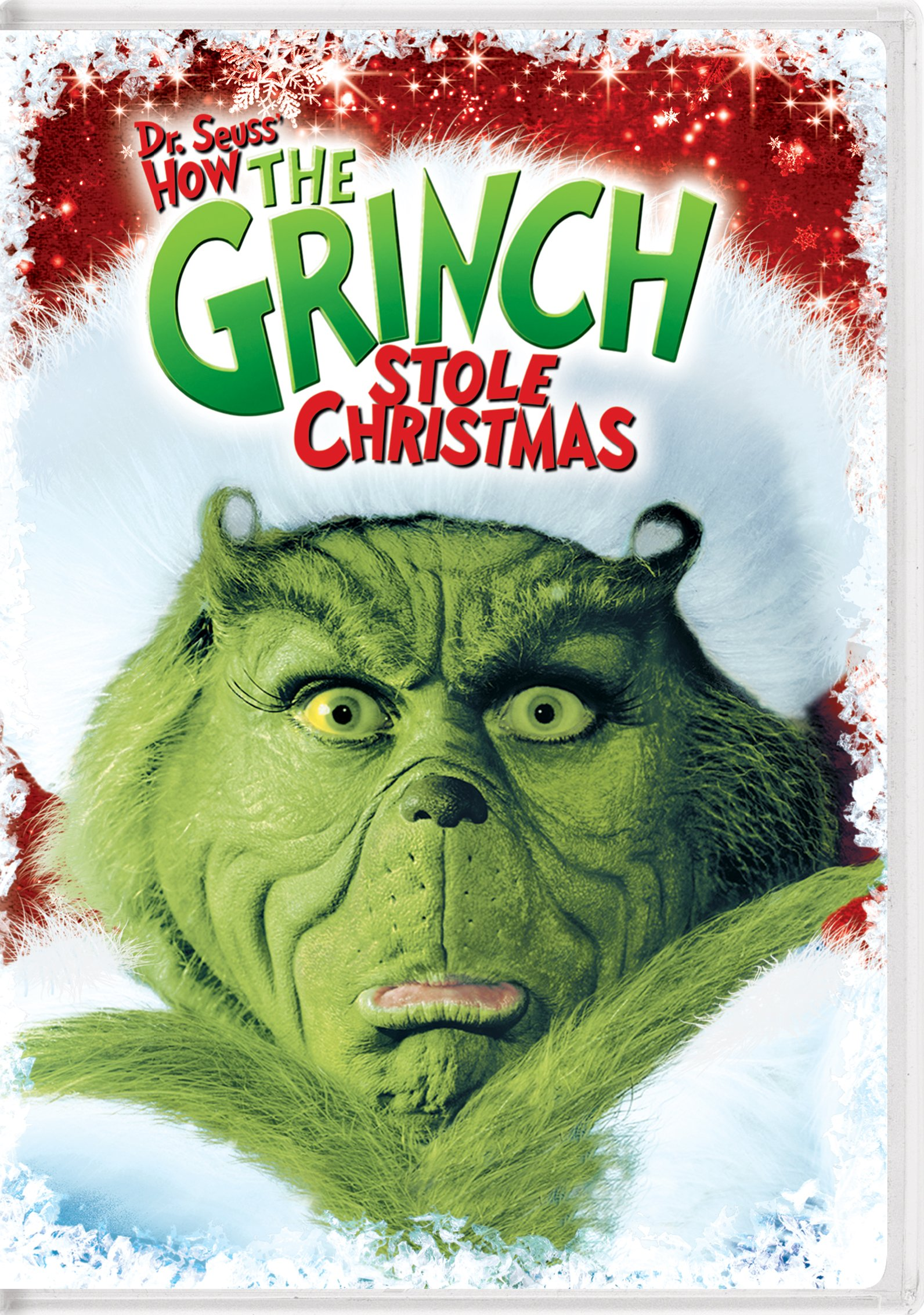 DVD : Dr. Seuss' How The Grinch Stole Christmas (Snap Case)