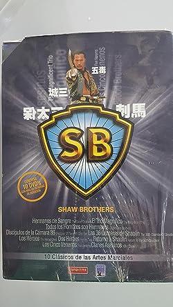 Pack SAW BROTHERS 10 Películas DVD del cine de artes marciales DVD ...