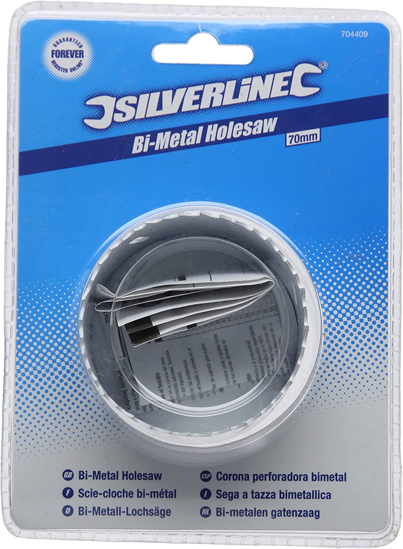 Corona perforadora bimetal 25 mm Silverline 595768