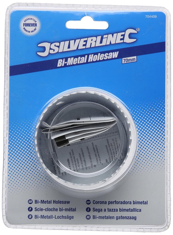 57 mm Corona perforadora bimetal Silverline 819723