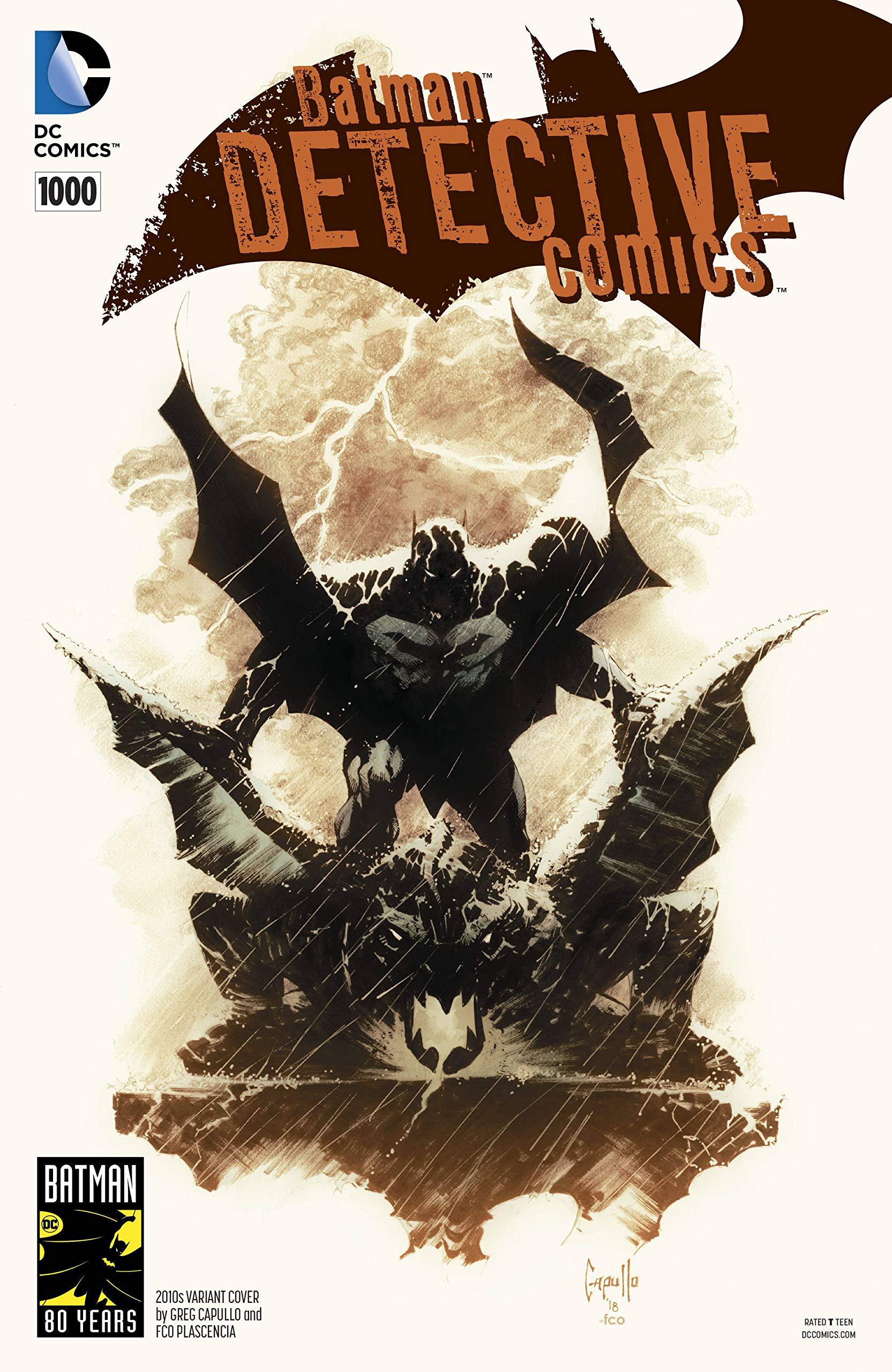 Detective Comics #1000 2000s Jock Variant Cover 1st Print DC Comics 2019
