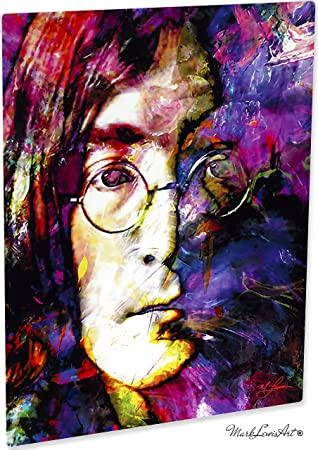 Mark Lewis Art John Lennon Prints Wall Decor Painting Astonishing Artwork By Jls2jlm