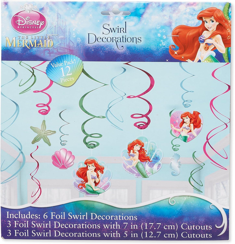 Disney Junior Amscan 6-Piece Jake Swirl Decorations Party Accessory