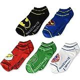 Calcetines de la Liga de la Justicia para niños, paquete de 5