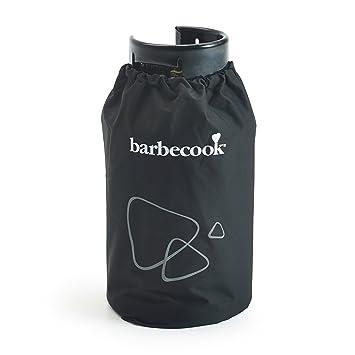 Barbecook Hoes Voor Gasfles Funda para Bombona de Gas Luxe, Negro, 3x30x30 cm: Amazon.es: Jardín