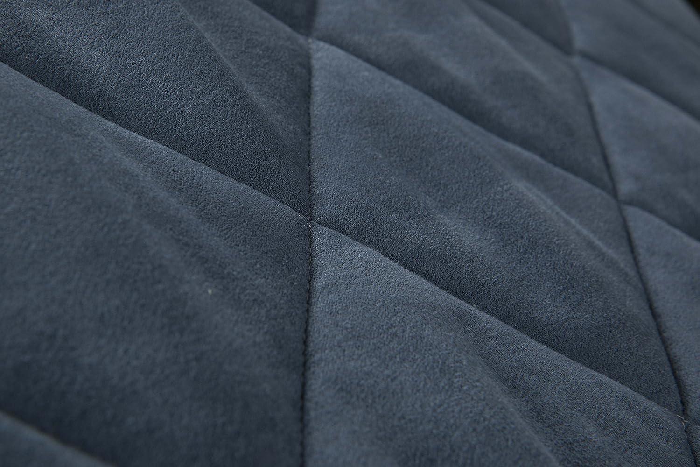 Chamois, Blue Pouf Repose-Pieds Rangement Pliable pour Chambre Ottoman Evergreenweb Suite Pouf Lit Simple avec Matelas Mousse Haut 10 cm Chambre ou Salon Tissu d/éhoussable Offre.