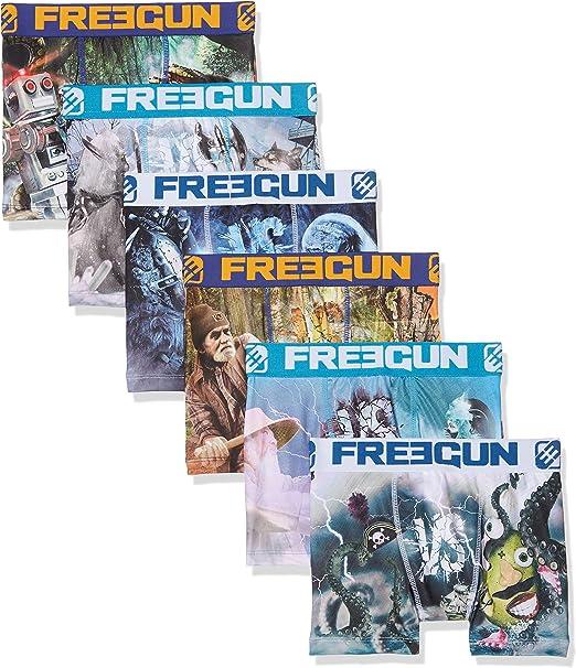 Freegun Boxer, Shorty Garçon, Multicolore