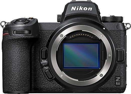 Amazon.com : Nikon Z 6II FX-Format Mirrorless Camera Body Black : Camera & Photo
