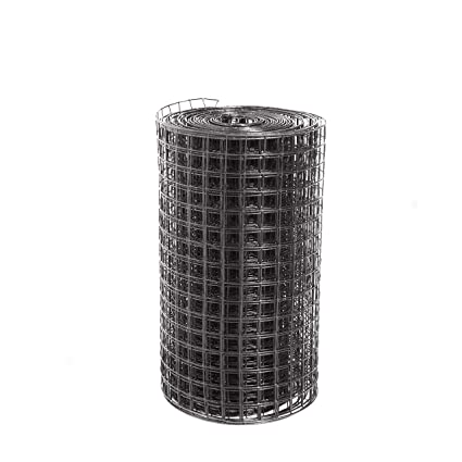 Amazon.com: Fencer Wire 16 Guage Black Vinyl Coated Welded Wire ...