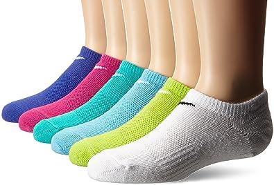 Amazon.com: New Nike 6 Pack non-cushion de las niñas de ...