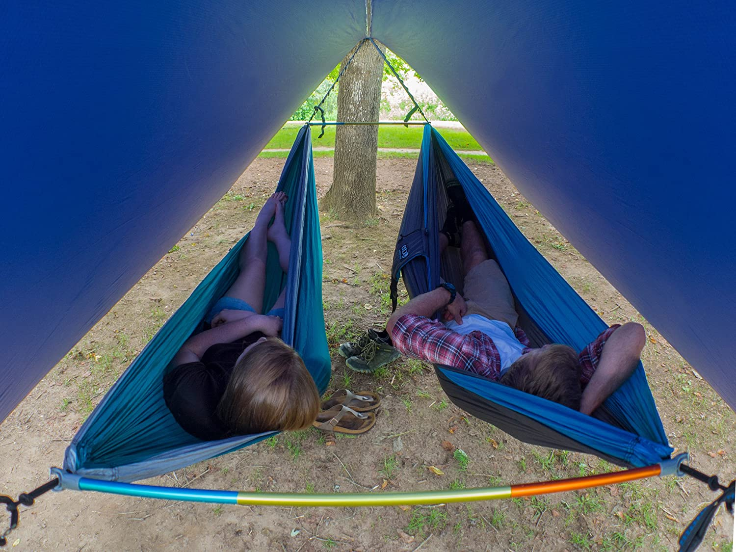 Eagles Nest Outfitters ENO Fuse Tandem Hammock System Slate Eagle/'s Nest Outfitters Inc