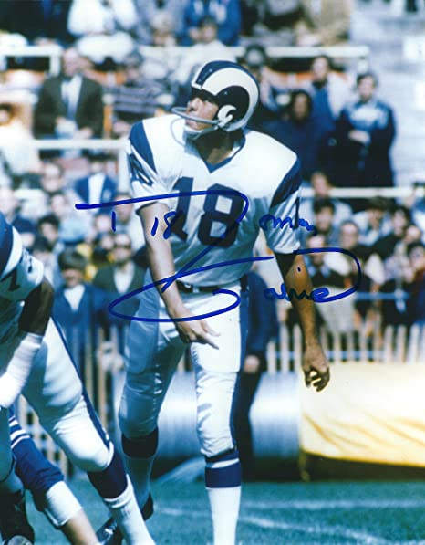 815ed068c35 Autographed Roman Gabriel Los Angeles Rams 8x10 Photo - W/coa at ...