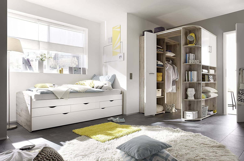 Moebel Guenstig24 De Ausziehbett Eckkleiderschrank Nessi Bett