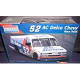 #2473 Monogram Kenny Schrader #52 AC Delco Chevy Race Truck 1/24 Scale Plastic Model Kit
