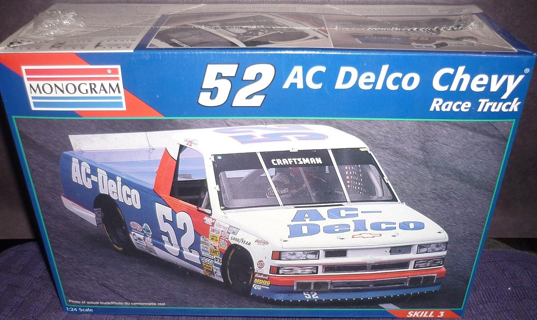 Amazon.com: #2473 Monogram Kenny Schrader #52 AC Delco Chevy Race ...