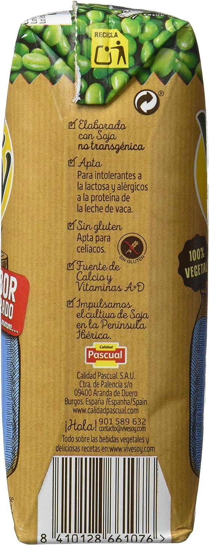 Vivesoy Bebida de Soja - Paquete de 3 x 250 ml - Total: 750 ...