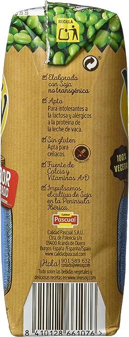 Vivesoy Bebida de Soja - Paquete de 3 x 250 ml - Total: 750 ml: Amazon.es: Alimentación y bebidas