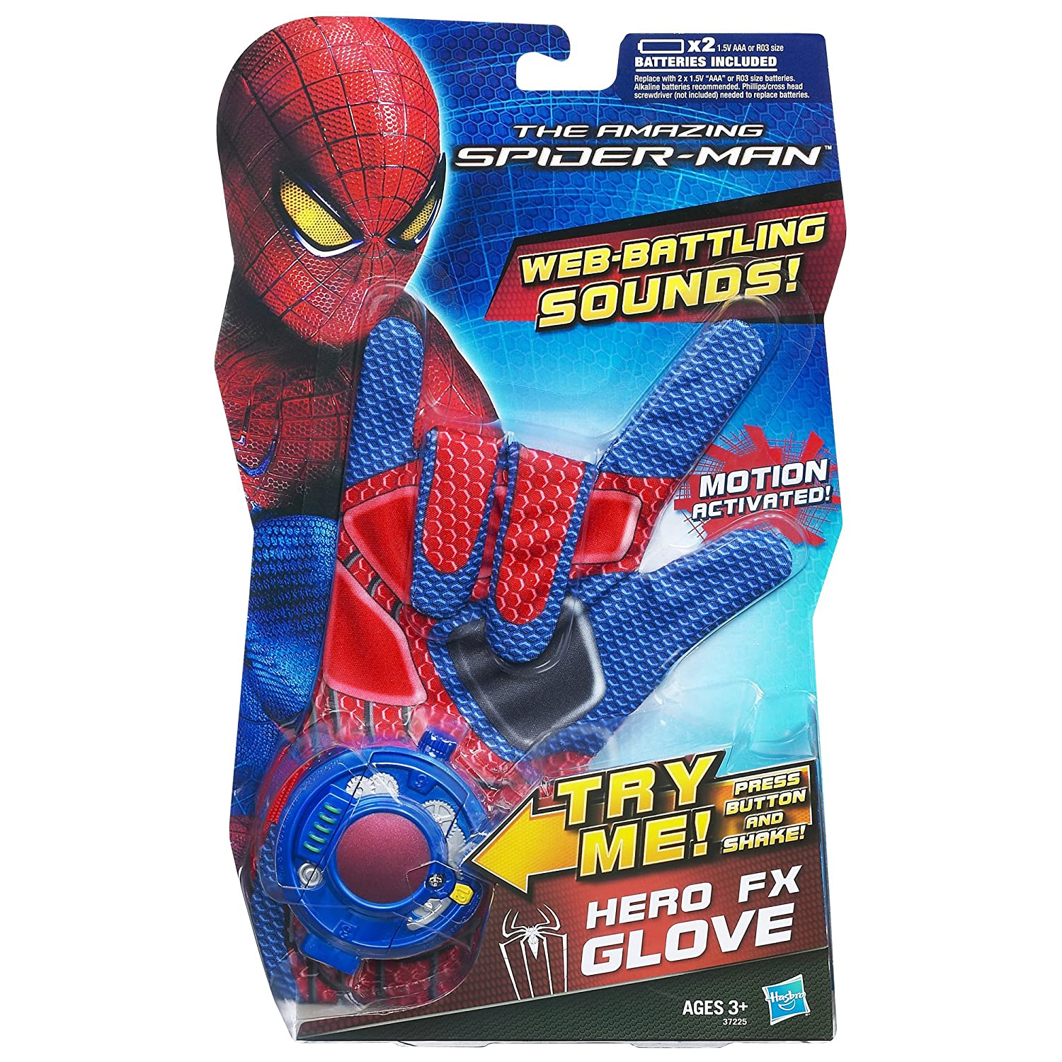 amazon com the amazing spider man hero fx glove toys u0026 games