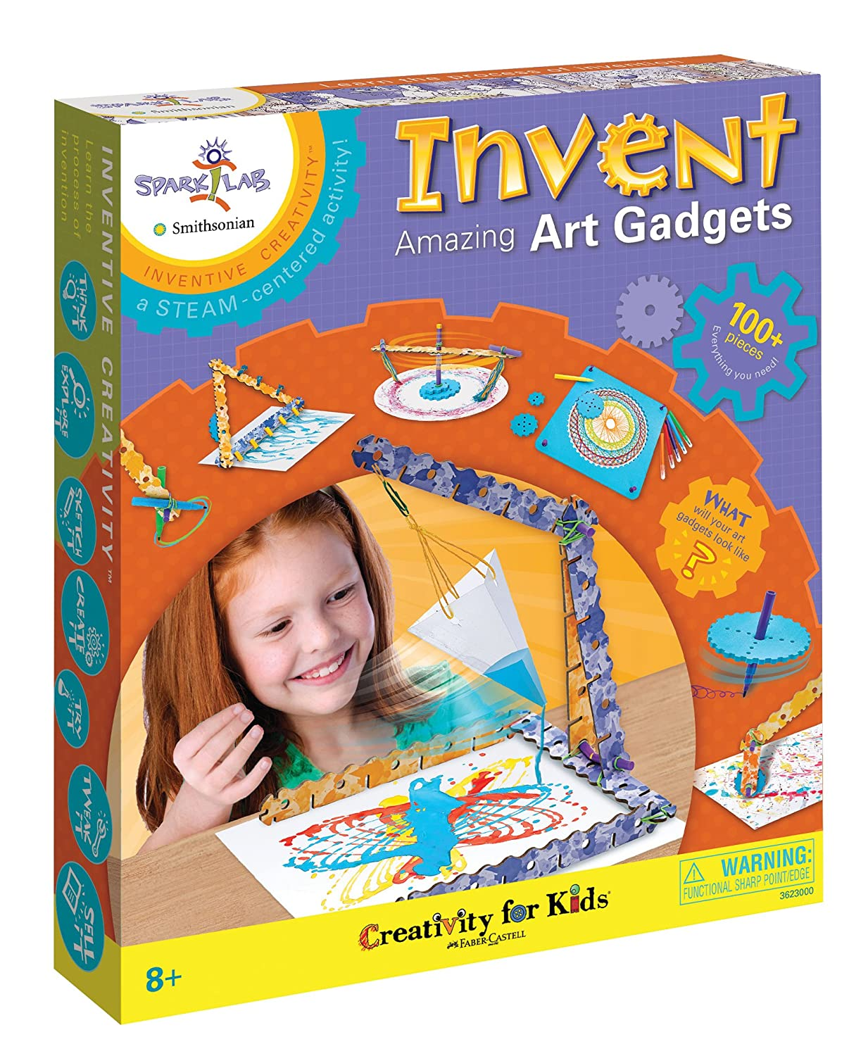 Creativity for Kids Spark Lab Smithsonian Invent Amazing Art Gadgets Kit