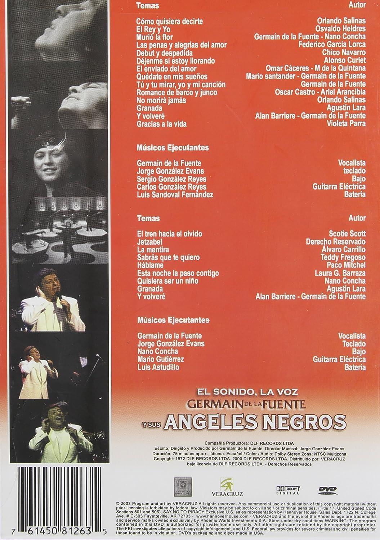 Germain De La Fuente [USA] [DVD]: Amazon.es: Germain De La Fuente & Sus Angeles Negros: Cine y Series TV