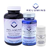 Relumins Advanced White Oral Glutathione, Vitamin C MAX & Booster Capsules - Ultimate...