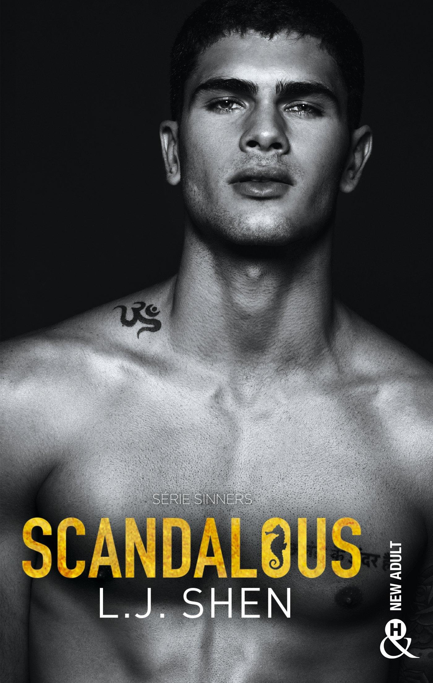 scandalous?tid=c5999296ba02dc7e4d282017c47ced46 - Sinners of Saint - Tome 3 : Scandalous de L.J Shen 91tOLLQFZaL