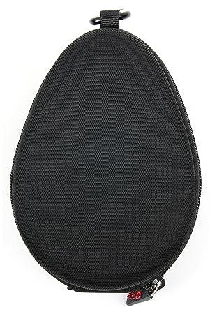 DURAGADGET Funda rígida para Auriculares Fitbit Flyer/Philips Bass+ SHB4385 Bluetooth Earbuds/Sennheiser Momentum Free: Amazon.es: Electrónica