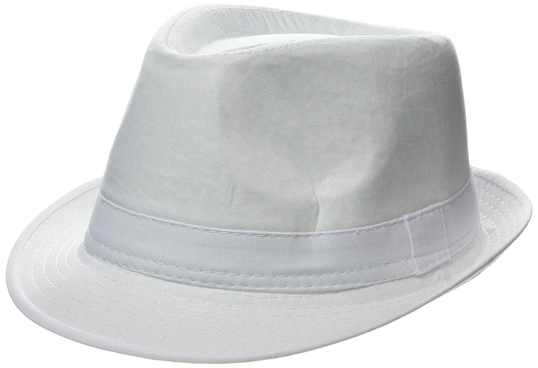 ebuygb Unisex 1289806verano Panamá sombrero, blanco, talla única