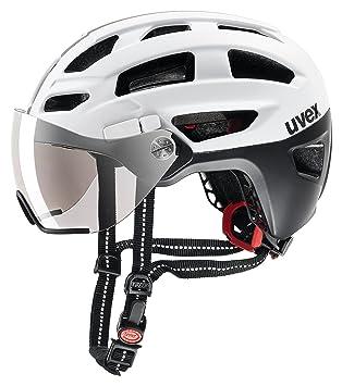 Uvex Finale Visor – Casco de Bicicleta, Primavera/Verano, Unisex, Color Black