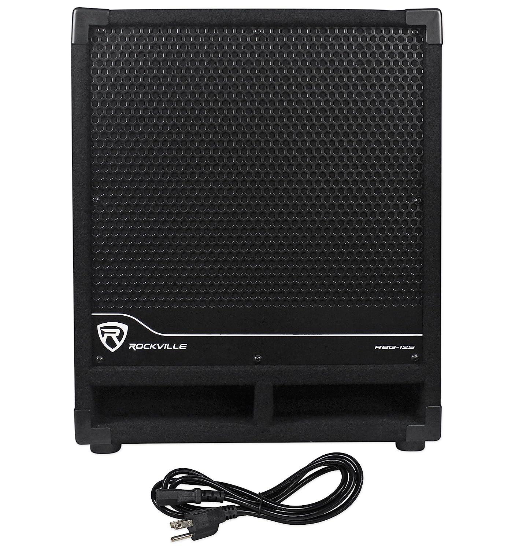 Rockville New RBG12S Bass Gig 1400 Watt Active Powered PA Subwoofer DJ/Pro,  12 inch (