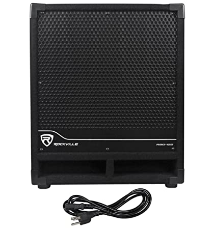 Rockville New RBG12S Bass Gig 1400 Watt Active Powered PA Subwoofer DJ/Pro,  12 inch (
