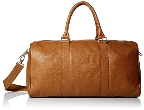 cole haan menu0027s cole haan wayland duffle bag british tan one size - Mens Leather Duffle Bag