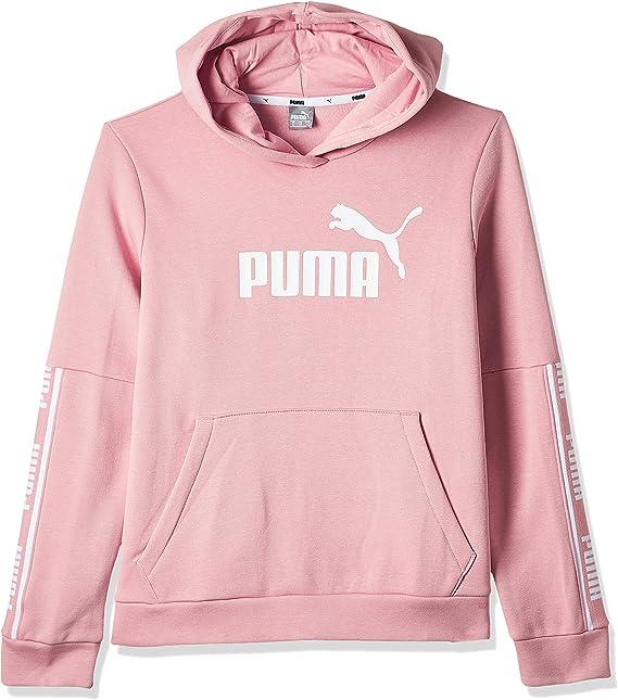 PUMA 580471 Felpa Donna Rosa L: Amazon.it: Abbigliamento