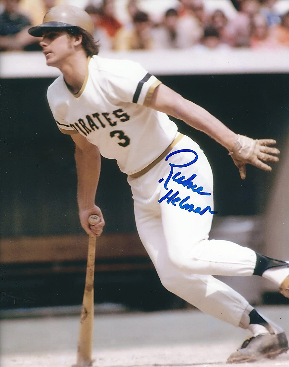 Autographed Richie Hebner 8x10 Pittsburgh Pirates Photo with COA