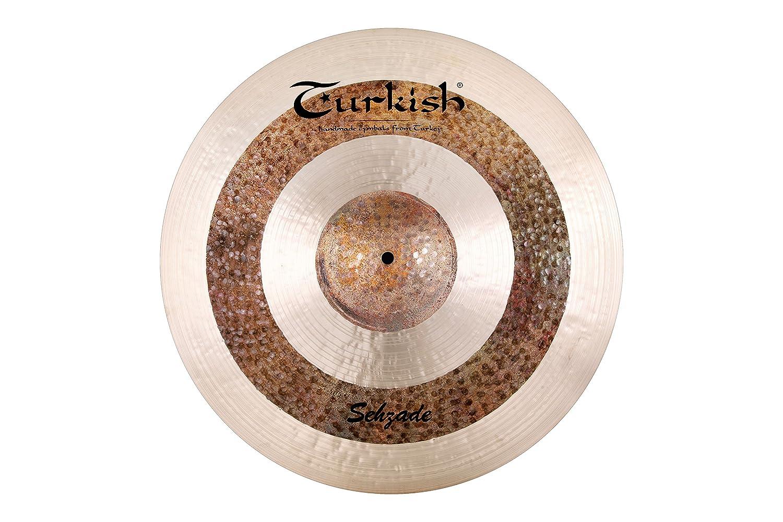 Turkish Cymbals Custom Series 21-inch Sehzade Ride * SH-R21   B01J3BRJYG