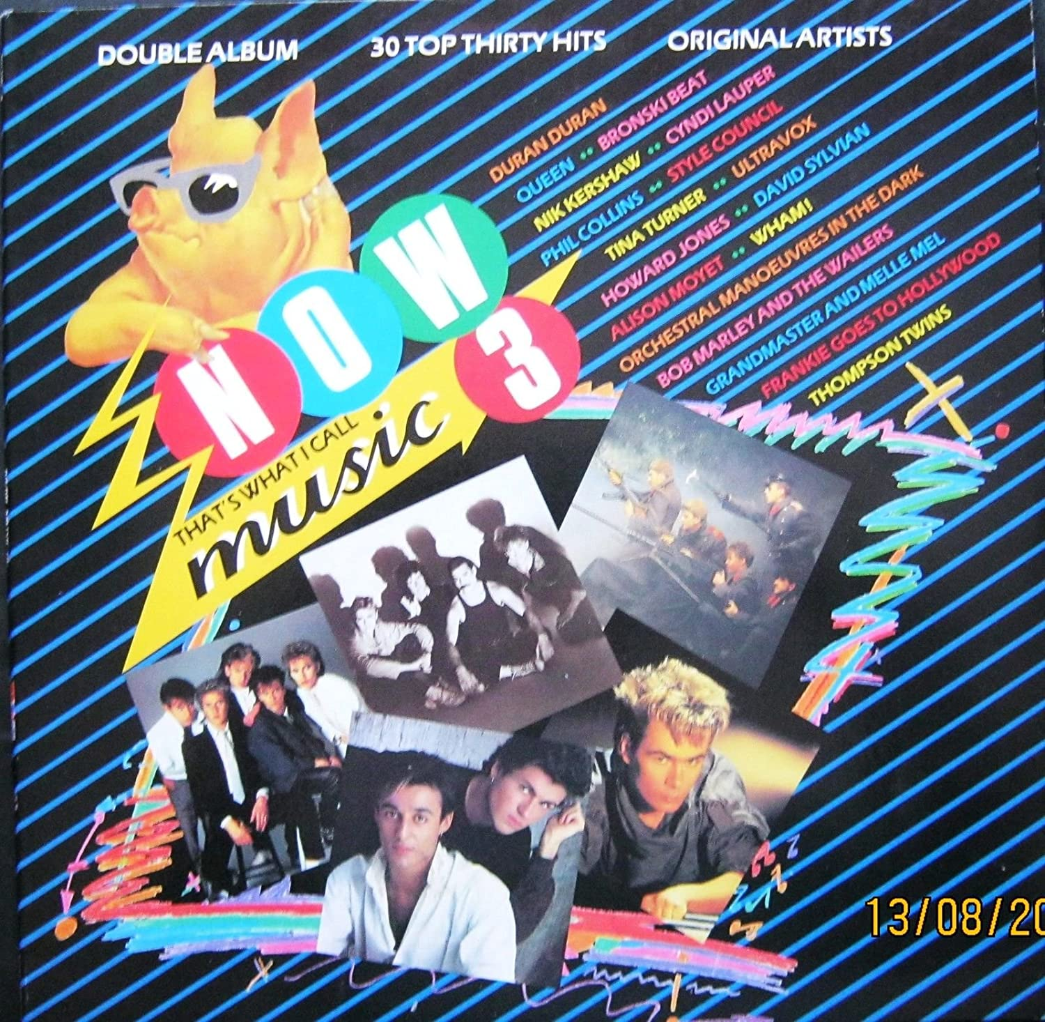 NOW THAT'S WHAT I CALL MUSIC 3,Double Vinyl LP  -QUEEN,BLUEBELLS,WHAM!,MADNESS: Amazon.co.uk: Music