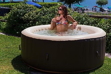 Jbay.Zone 7150017 bañera Jacuzzi Hinchable eléctrica, 800 Liters ...