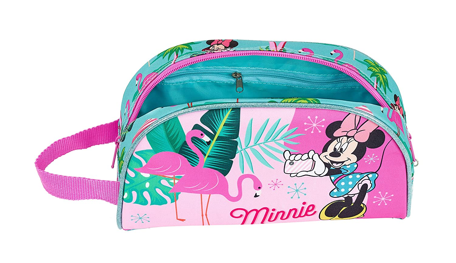 260x160x90mm Minnie Mouse Palms Oficial Neceser Grande